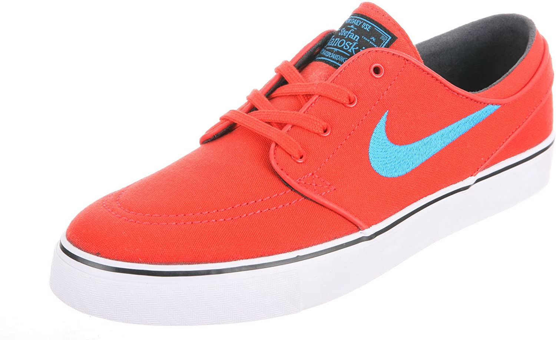 NIKE Sb Zoom Stefan Janoski Canvas (Light Crimson Vivid Blue-Black) Mens  Skate Shoes  Amazon.co.uk  Shoes   Bags 0dc4157b3
