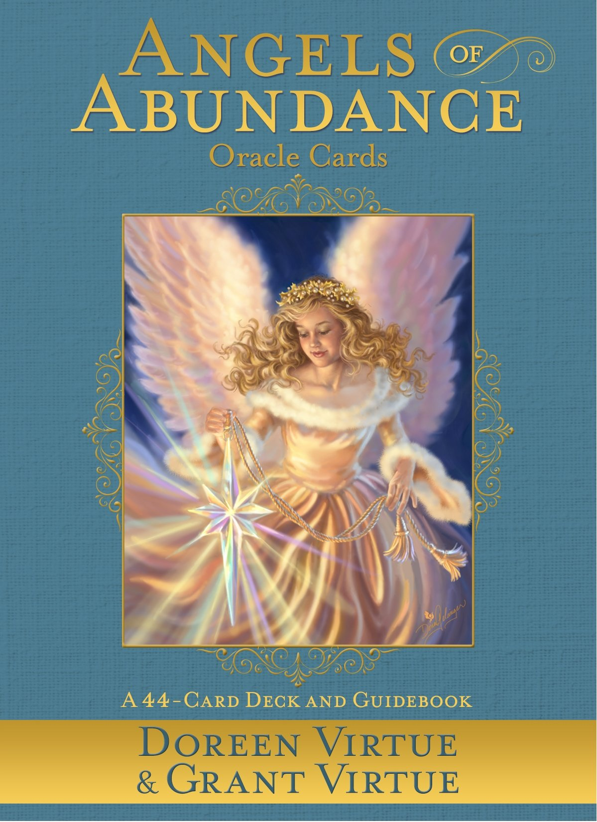 Angels Of Abundance Oracle Cards  A 44 Card Deck And Guidebook