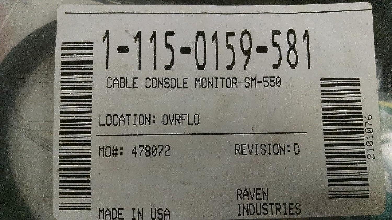 Raven 115-0159-581 Cable Console Monitor SM-550