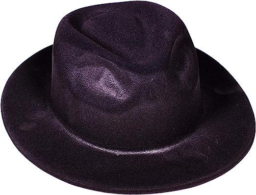Unisex Blue Panda White Fedora Hat 3-Pack Gangster Hat 1920s Halloween Costume Accessory