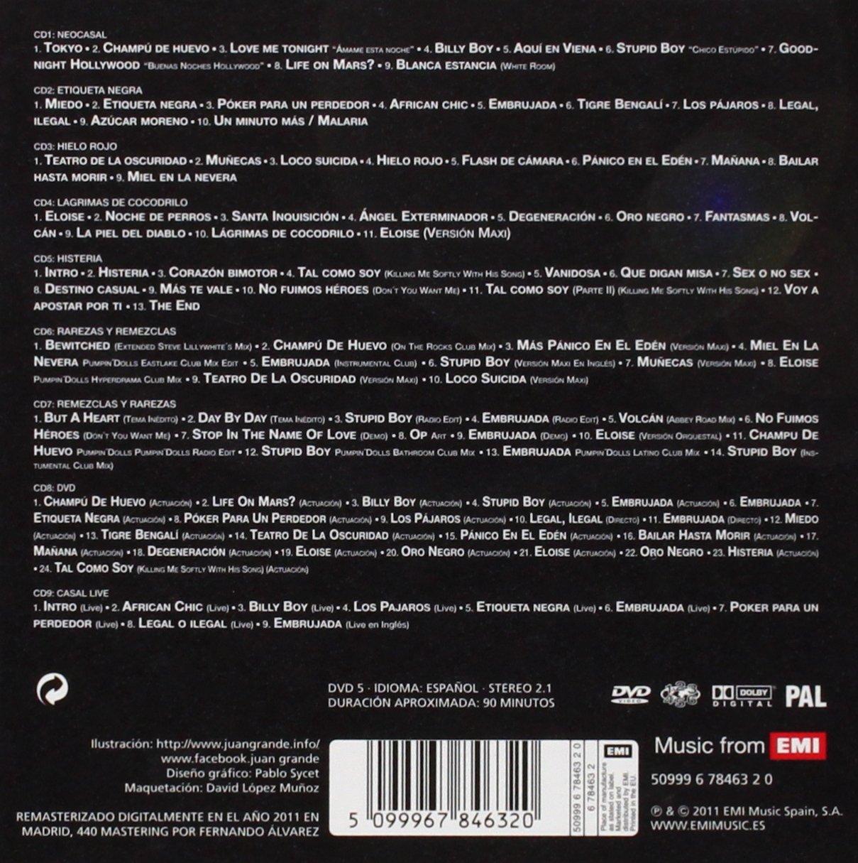 Todo Casal incluye DVD: Todo Casal : Amazon.es: Música