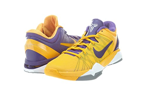 new product 6538f ea187 Nike Men s Zoom Kobe VII 7 System Yin Yang Lakers Basketball Shoes Court  Purple University