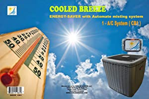 COOLED BREEZE Automate Misting System for A/C condenser