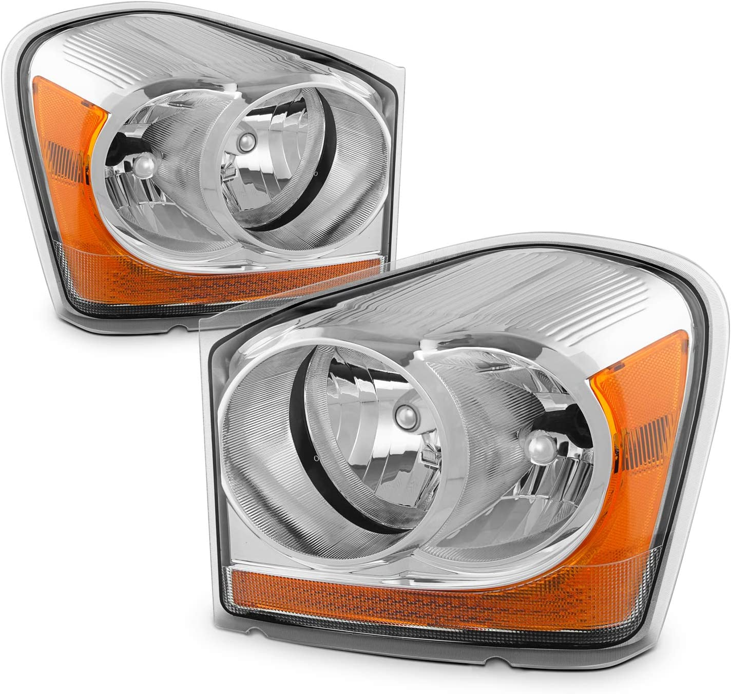 New Set of 2 Head Light Headlight Washer Covers Headlamp Driving Lamp Pair
