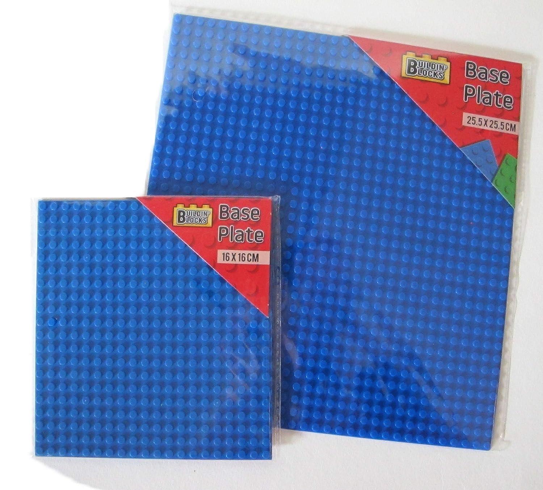 Lego 10 Dark Blue 1x6 base plate NEW