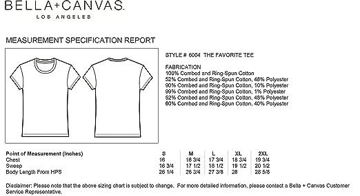 881d9c3b11d59 Bella Canvas - T-Shirt Femme COL Rond  Amazon.fr  Vêtements et accessoires