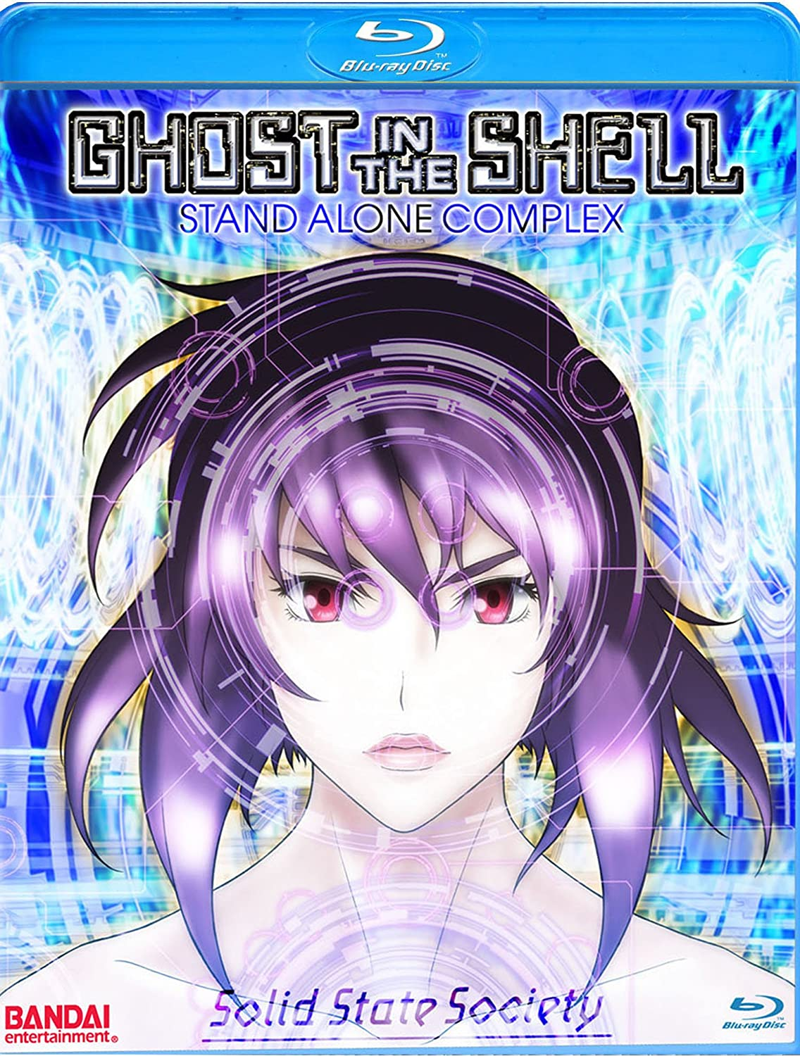 Amazon Com Ghost In The Shell Solid State Society Blu Ray Not Provided Not Provided Movies Tv