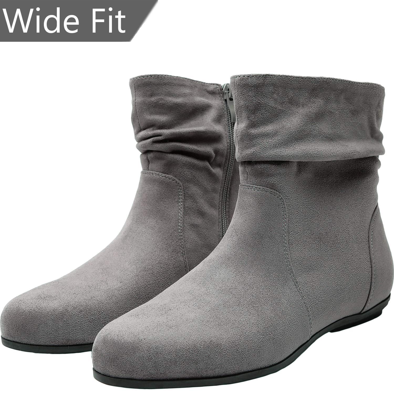 8e7457d30aac Women s Wide Width Ankle Boots