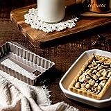 CHEFMADE Mini Tart Pan Set, 4-Inch 4Pcs with