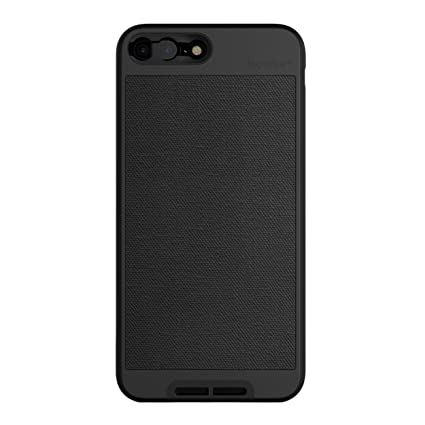 2d8c12a12a52 iPhone 7 Plus/iPhone 8 Plus Case || Moment Photo Case in Black Canvas -  Thin, Protective, Wrist Strap Friendly case for Camera Lovers.