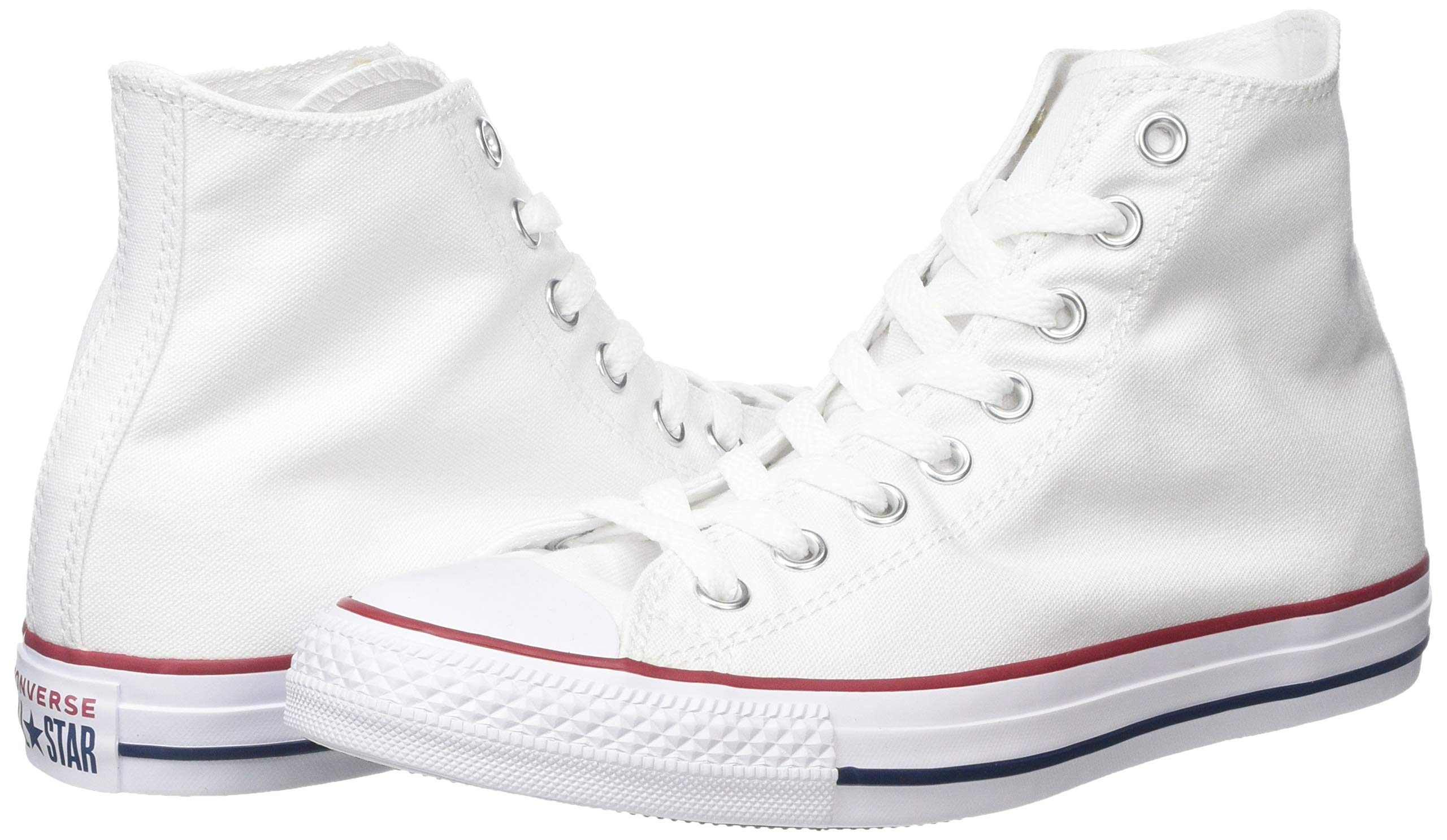 4ebe33289afe Galleon - Converse Unisex Chuck Taylor All Star Hi Oxfords Optical White  4.5 D(M) US