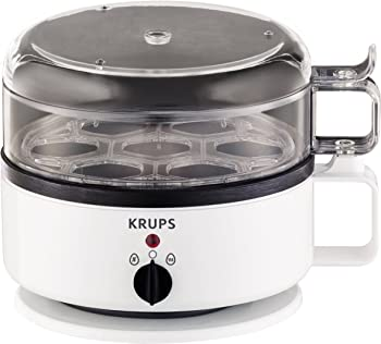 KRUPS Egg Cooker with Water Level Indicator