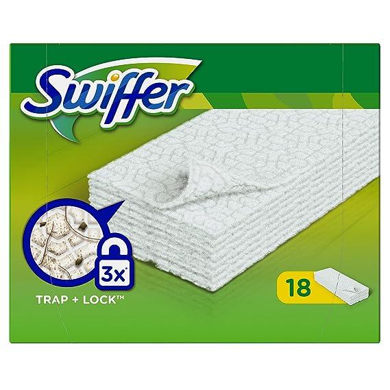 Swiffer - Mopa atrapapolvo (pack de 6 x 18 unidades)
