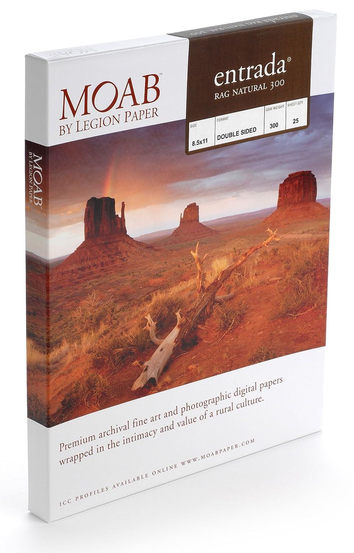 Moab Entrada RAG Bright Paper 25 A4 21 x 29, 7 cm (A4) Carta fotografica ERN300A425