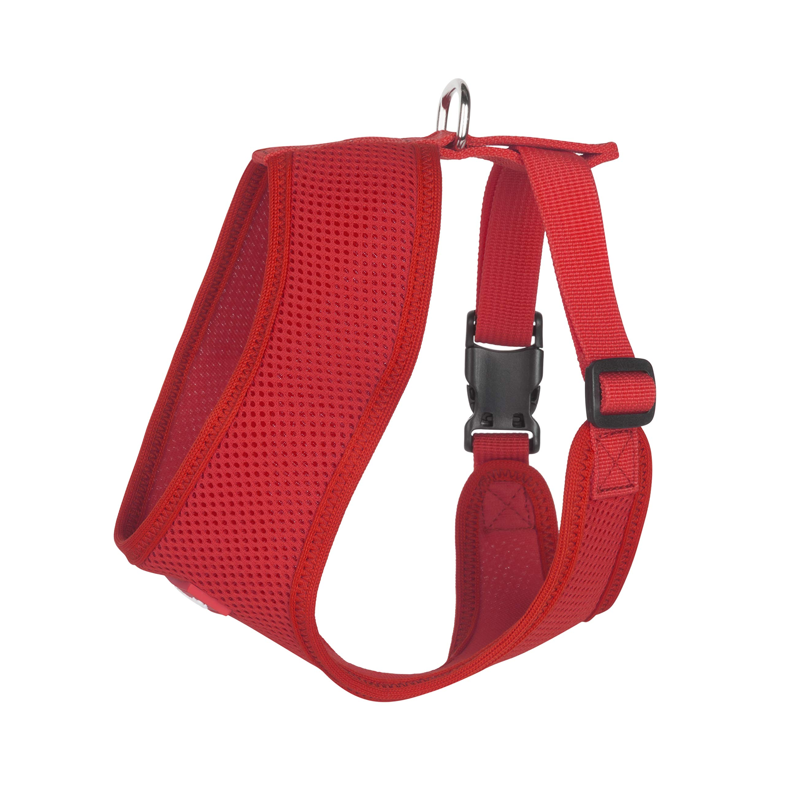 Hip Doggie Award Winning, Ultra Comfort Red Mesh Harness Vest - L by Hip Doggie