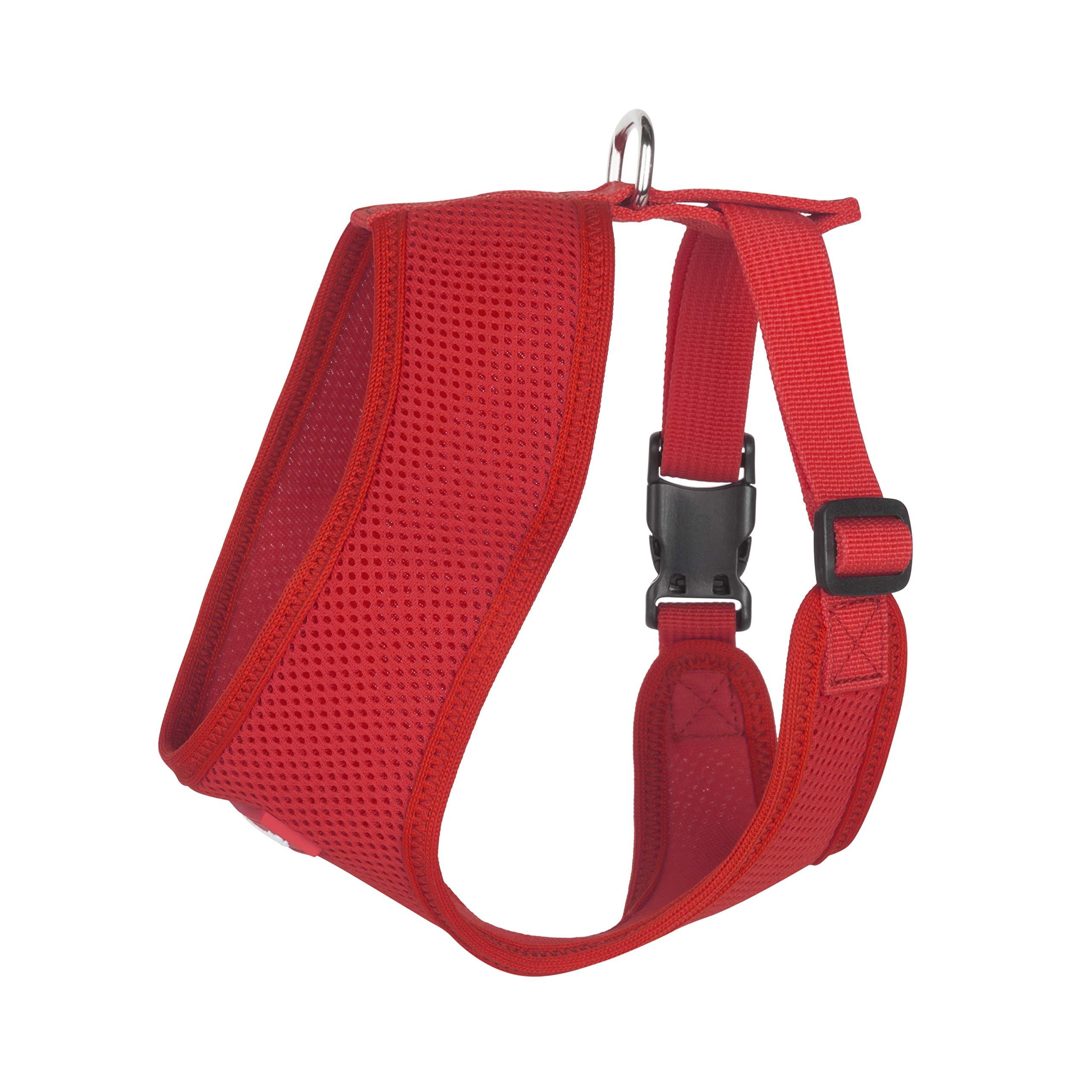 Hip Doggie Award Winning, Ultra Comfort Red Mesh Harness Vest - S
