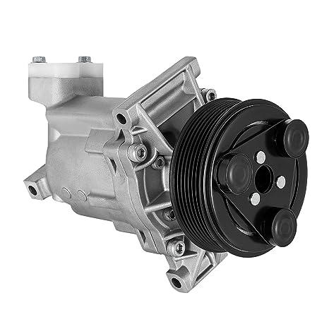 Happybuy AC Compresor Nissan Tiida Versa 07 ~ 15 1.6L 1.8L UAC a/
