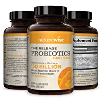 NatureWise Daily Probiotics for Women and Men | Time-Release, Comparable to 150...