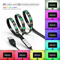 Jackyled 6.6Ft 60Leds Back light Strip USB Bias Monitor Lighting