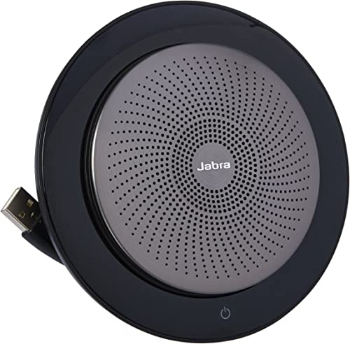 Jabra Speak 710 UC Wireless Bluetooth Speaker for Softphone and Mobile Phone Easy Setup, Portable Speaker for Holding Meetings Anywhere with Immersive Sound, UC Optimized