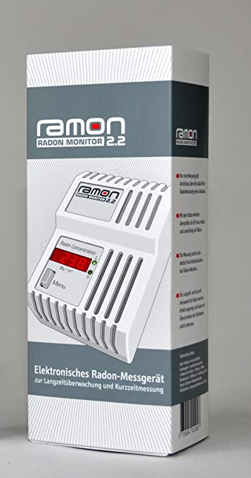 RAMON 2.2 Monitor de Gas Radón Digitales: Amazon.es: Industria, empresas y ciencia