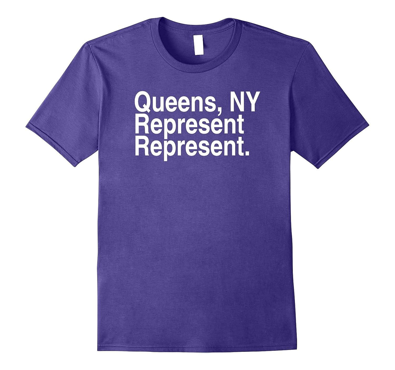 Queens NY Represent Tshirt-ANZ
