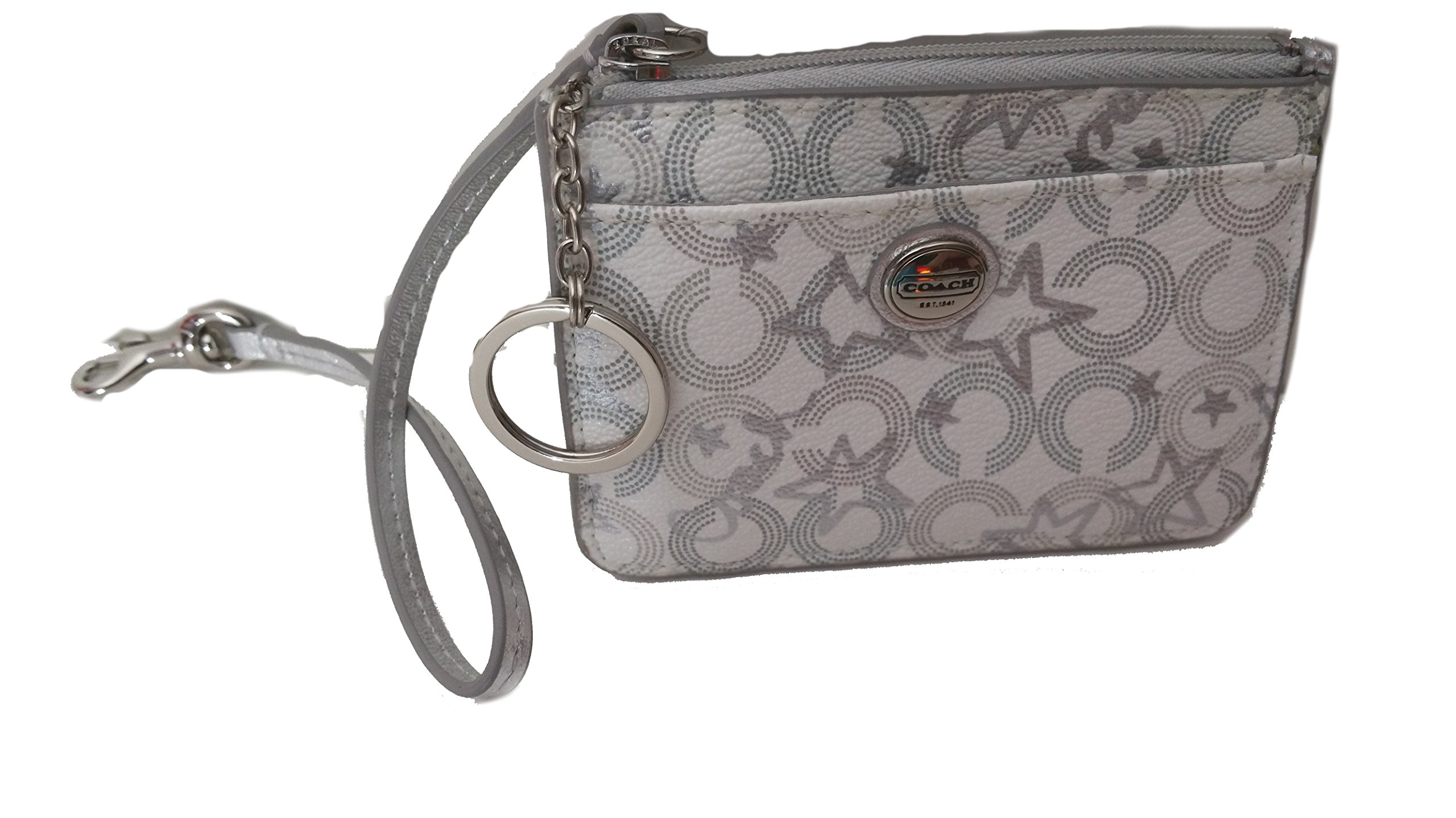 Coach Peyton Snow Queen Print ID's Card Case Keyring Holder by COACH (Image #1)