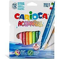 Carioca Acquarell Fırça Uçlu Keçeli Boya Kalemi 12'Li