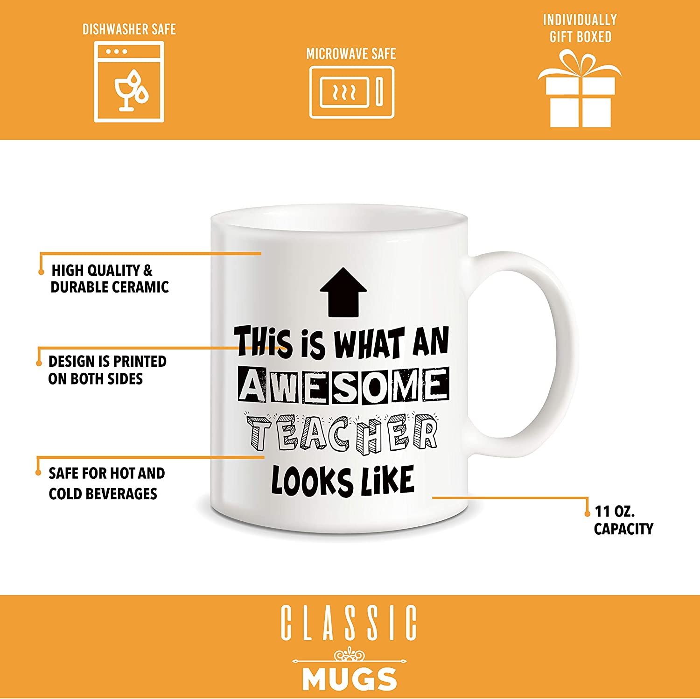Tea//Coffee Mug//Cup FREE POST This Is What An Awesome Teacher Looks Like