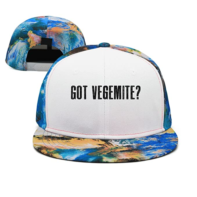 a91a5308f70 SJSNBZ Got Vegemite Cool Unisex Adult Womens Polychrome Hip-hop Hat at Amazon  Men s Clothing store