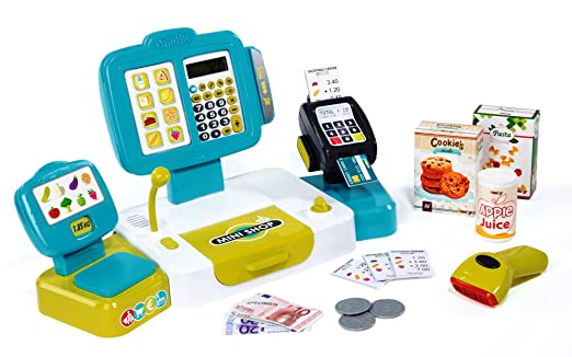 Smoby Electronic Cash Register Closed Box