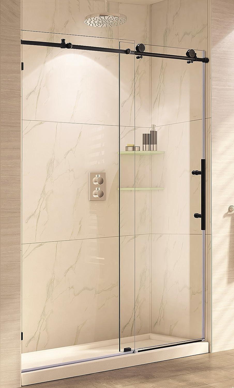 Paragon baño crsbs0348-orb sin marco deslizante para mampara de ...