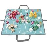Janod J08077 Kubix 40 Letter and Number Blocks Game