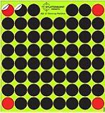 Lot de 10 – (620 total) 2,5 cm Splatterburst Cover-Up Patches