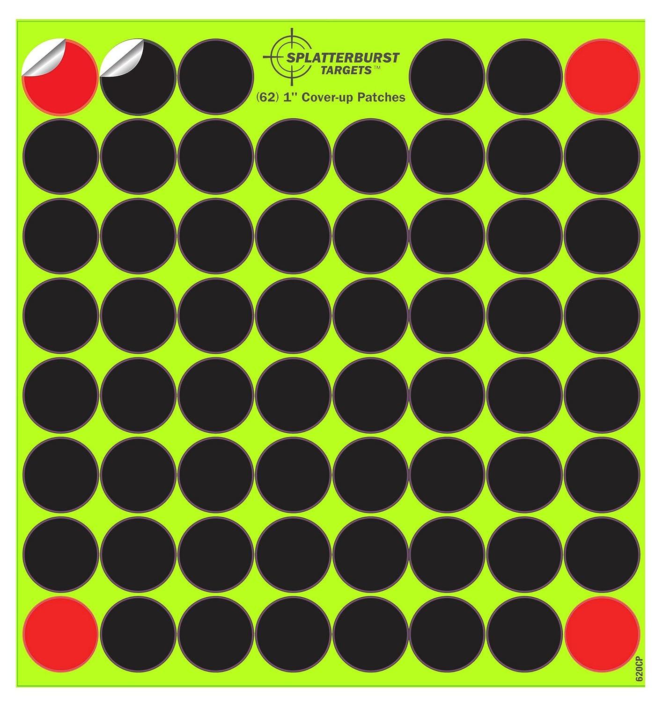 Paquete de 10 - 2, 54 cm Cover-up Parches (620 Total) Splatterburst Targets Inc
