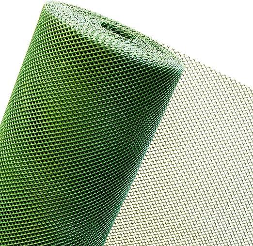 Malla de 1, 2 m2 en 1, 2 m de ancho x 1 m de plástico Valla de Jardín Rejilla de protección contra el viento Reptiles Malla de 5 mm verde (mercancía) RT7/120BIS: Amazon.es: Jardín