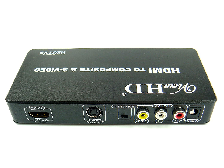 Amazon ViewHD HDMI To TV Composite RCA AV S Video Converter