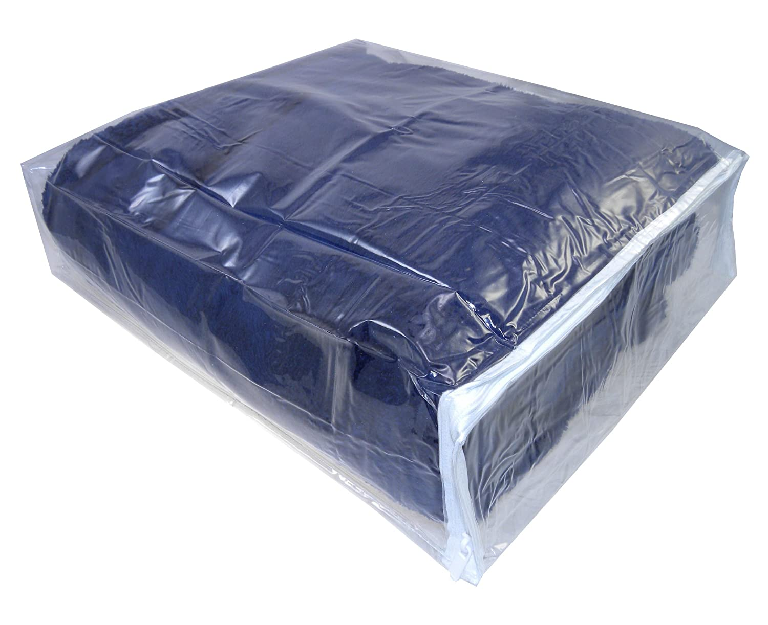 Amazon.com Clear Vinyl Zippered Storage Bags 15x18x4 Inch Set of 5 AK Plastics by AntiqueKitchen Home u0026 Kitchen  sc 1 st  Amazon.com & Amazon.com: Clear Vinyl Zippered Storage Bags 15x18x4 Inch Set of 5 ...