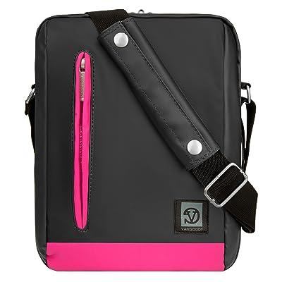 Adler 10.2 Premium Coated Vegan Leather Carrying Shoulder Bag Case For NVIDIA SHIELD & SHIELD 2 Tablet (All Models)