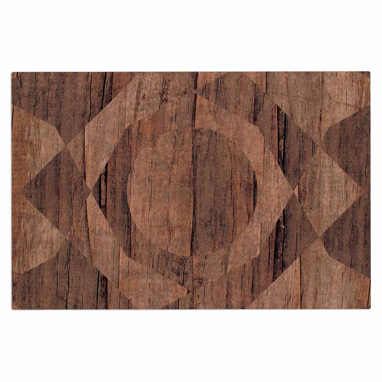2 x 3 Floor Mat Kess InHouse Bri Buckley Modern Graphics Multicolor Geometry Decorative Door