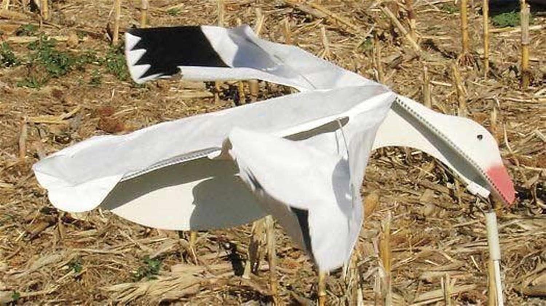 Sillosocks Flapping Snow Goose Decoy, White   B001BAGUQG