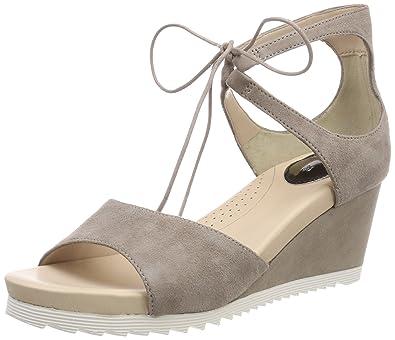 Shoes Damen Florentine 04 Riemchensandalen, Beige (Taupe), 42 EU Gerry Weber