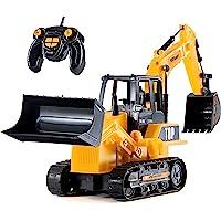 Vehículos de construcción RC de juguete para niños