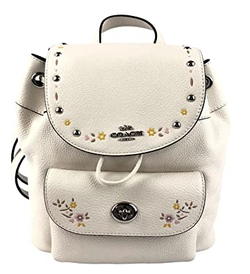 e662414dac5b Amazon.com  COACH MINI BILLIE BACKPACK WITH FLORAL TOOLING (COACH ...