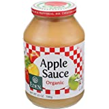 Organic Apple Sauce Eden Organic 25 oz Glass Jar