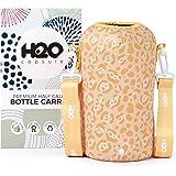 H2O Capsule Half Gallon Water Bottle Holder with Strap Water Bottle Carrier with Shoulder Strap (Patent Pending) - Neoprene W
