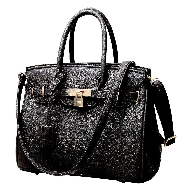 RW Collections Carey Designer Tote Satchel Shoulder Crossbody Bag Handbag