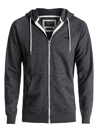 Quantité limitée prix d'usine vente professionnelle Quiksilver Everyday Otlr Byj1 Sweat-Shirt à Capuche Zippé Homme,