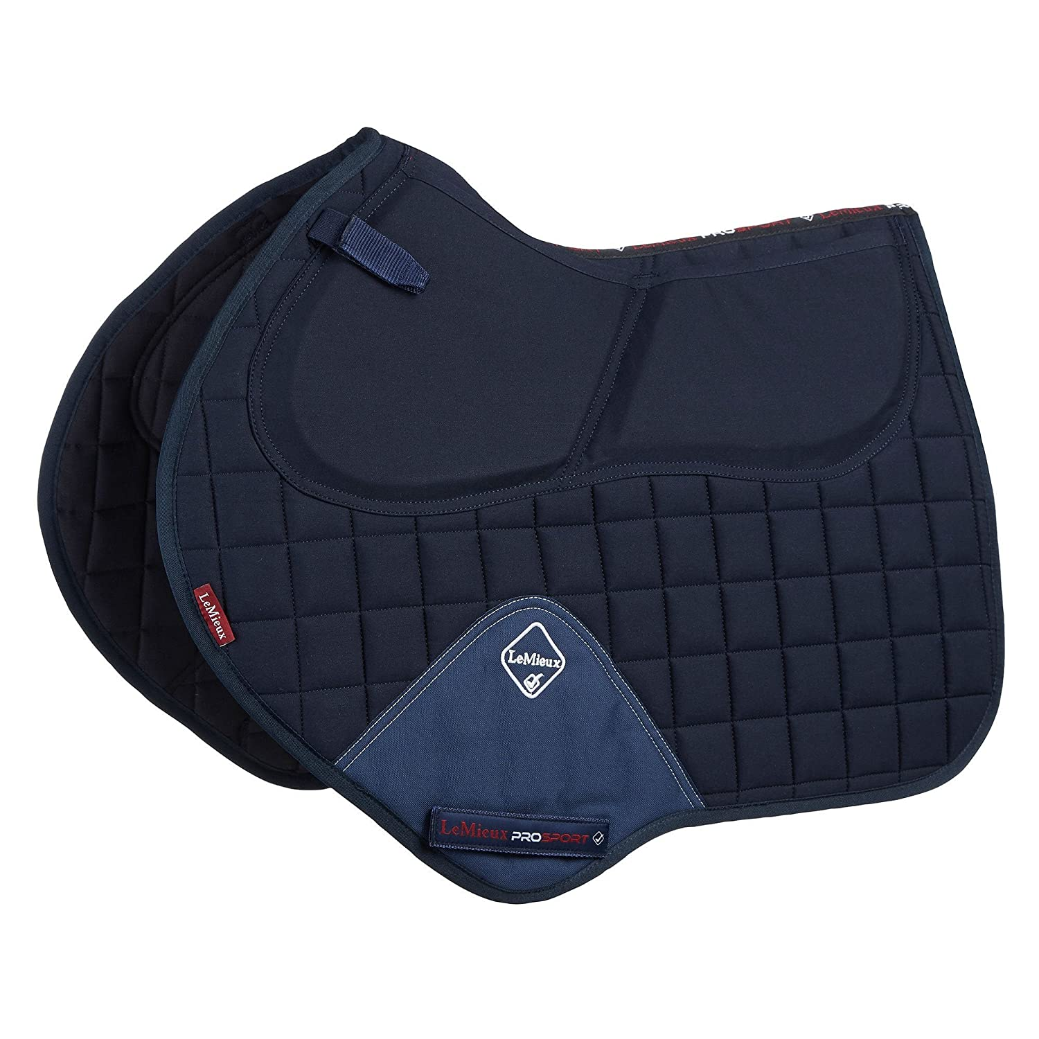 Navy LargeLeMieux Sport ProSorb System Close Contact Square Saddle Cloth