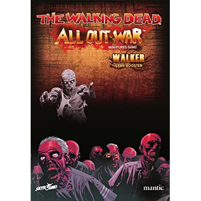 Mantic Games MGWD101 The Walking Dead All Out War Walker Booster: Toys & Games